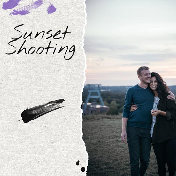 Sonnenuntergang Fotoshooting Ruhrgebiet