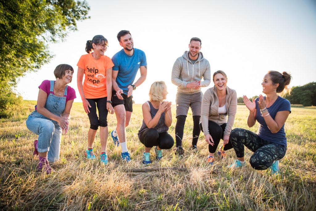 Fotoshooting Fitness Coach Fotograf Werbung Bewegung
