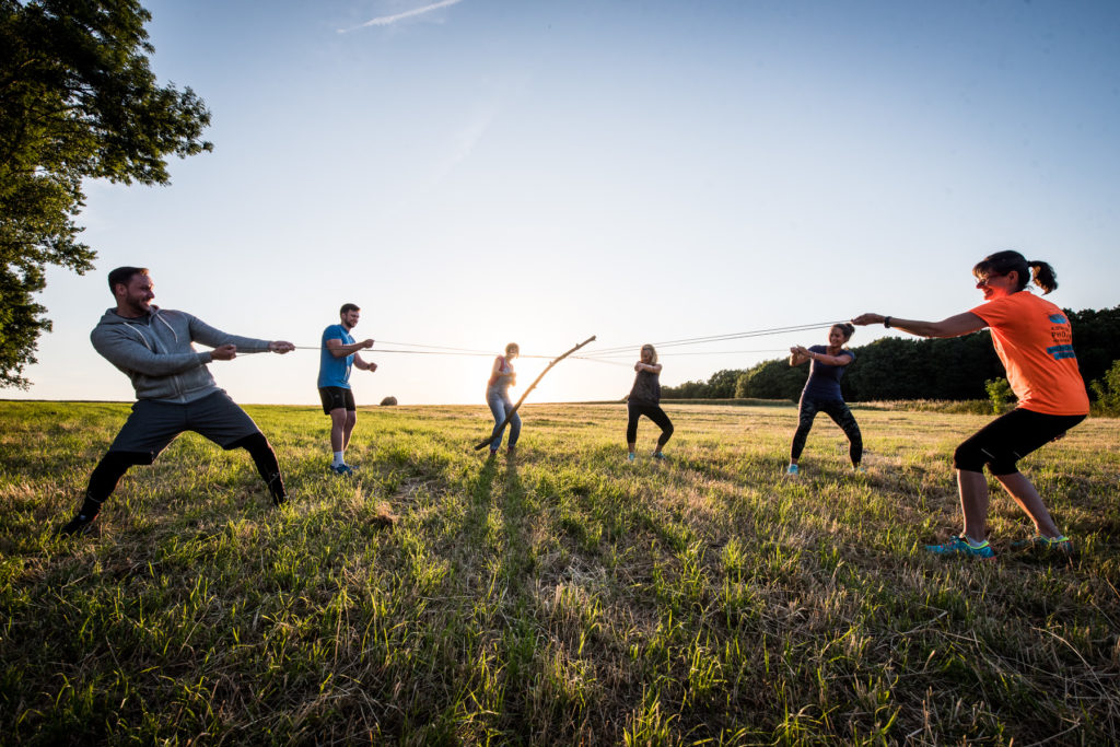 Unternehmen Werbung Fotoshooting Fitness Coach Fotograf Werbung Bewegung